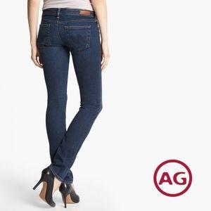 AG | ANTHROPOLOGIE | Aubrey Skinny Straight Jeans